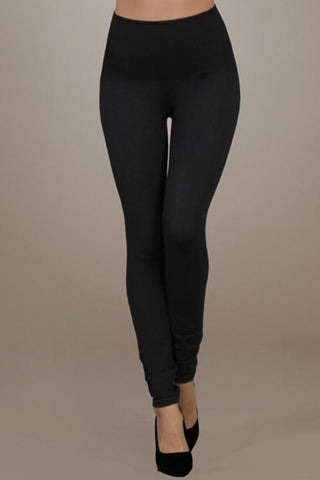 High Waist Denim Leggings