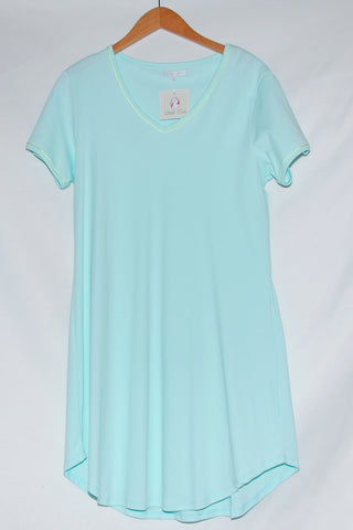 Short Sleeve Short Gown