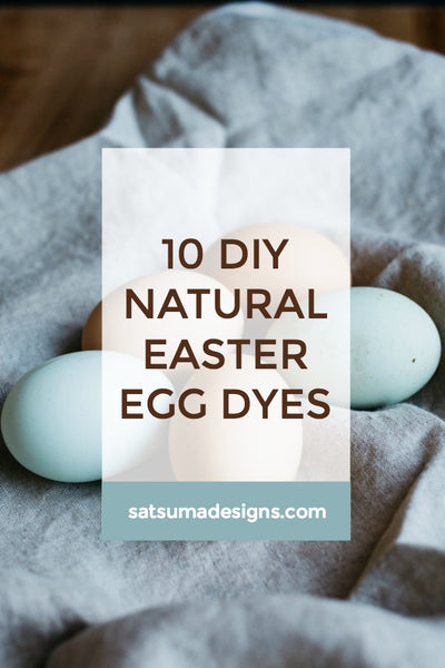 10 DIY Natural Easter Eggs Dyes
