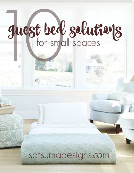 10 Guest Bed Solutions for Small Spaces