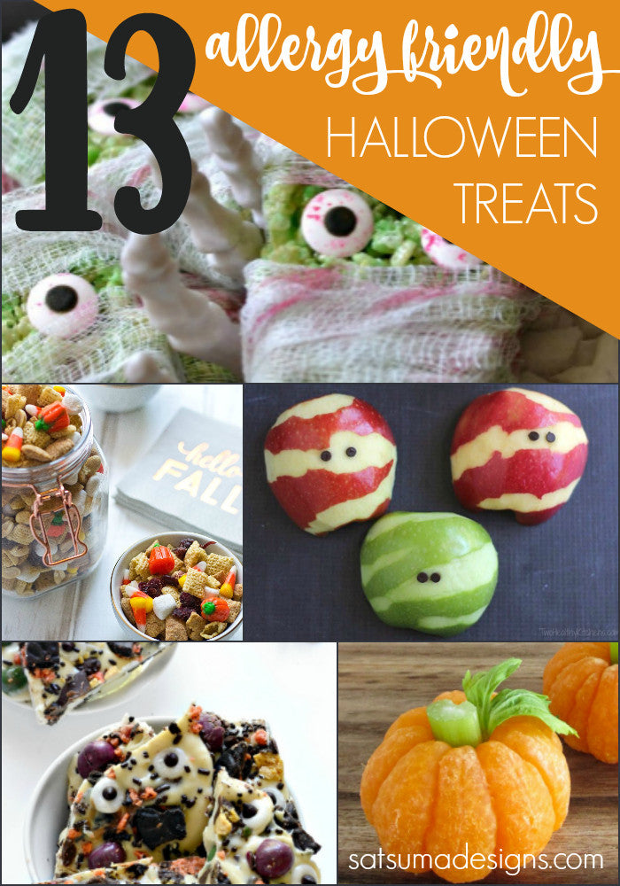 13 Allergy Safe Halloween Party Recipes for School