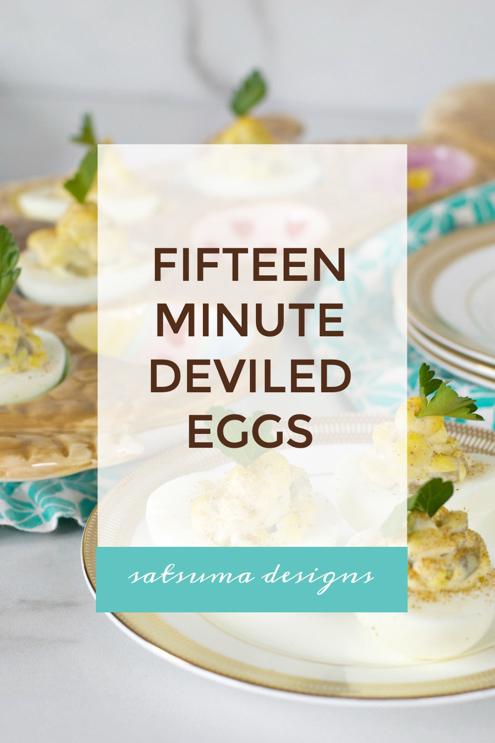 15 Minute Deviled Eggs Recipe