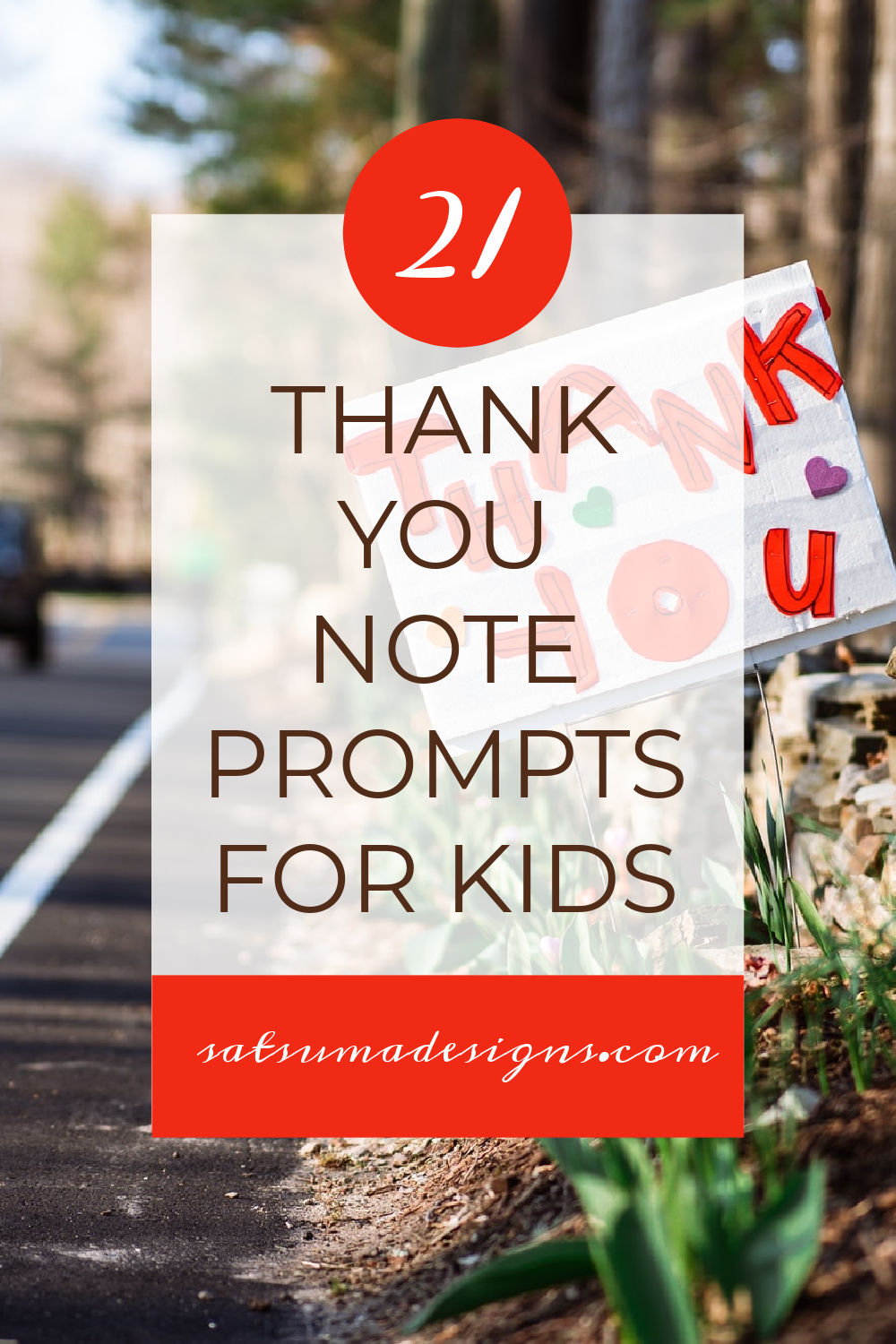 21 Thank You Note Prompts for Kids