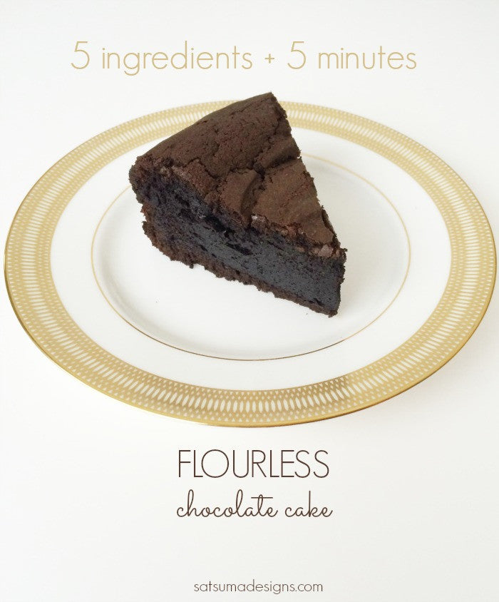 Flourless Chocolate Cake in a Nutribullet