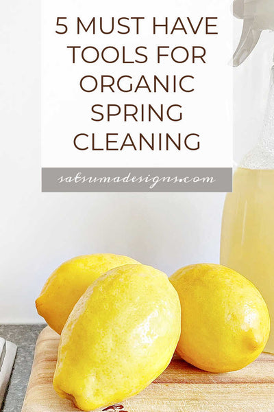 5 Must Have Tools for Organic Spring Cleaning