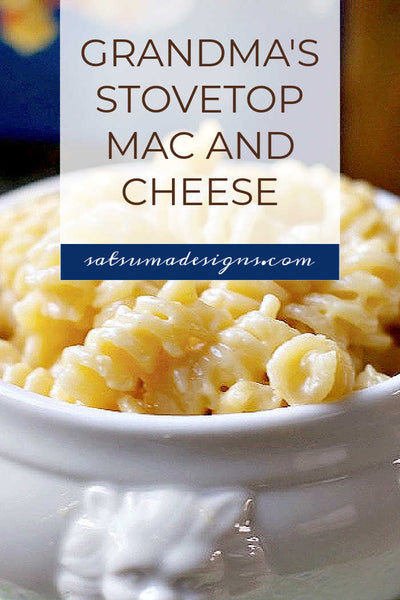 Grandma's Stovetop Mac and Cheese Recipe
