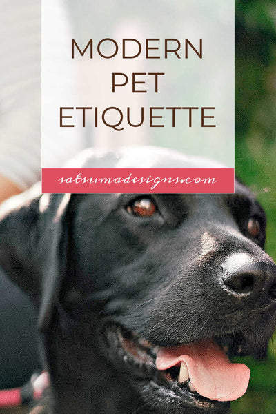 Modern Pet Etiquette | Best Practices for Dog Owners