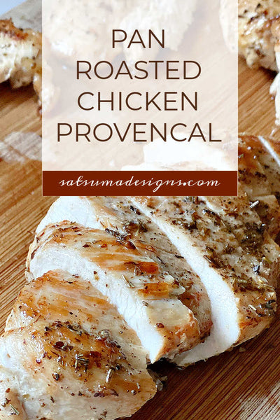 Pan Roasted Chicken Provencal Recipe