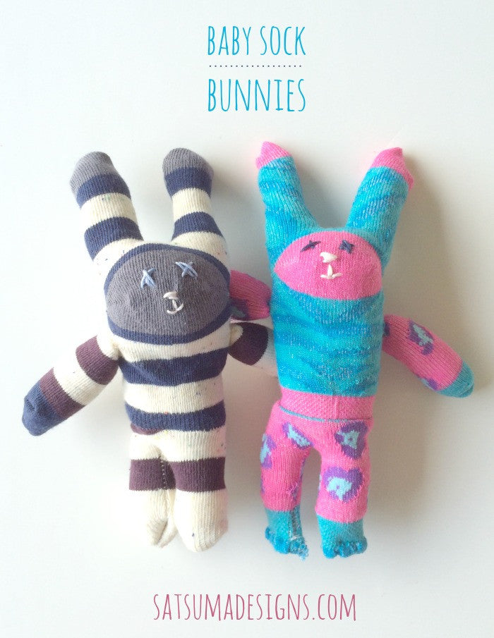 Easter Baby Sock Bunnies
