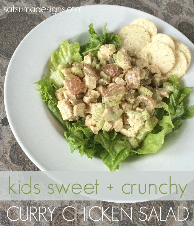 Kids Curry Chicken Salad