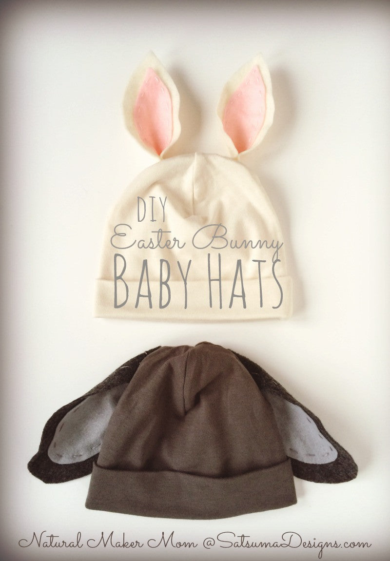 DIY Easter Bunny Baby Hat