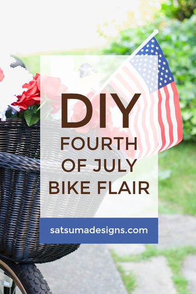 DIY Fourth of July Bike Flair