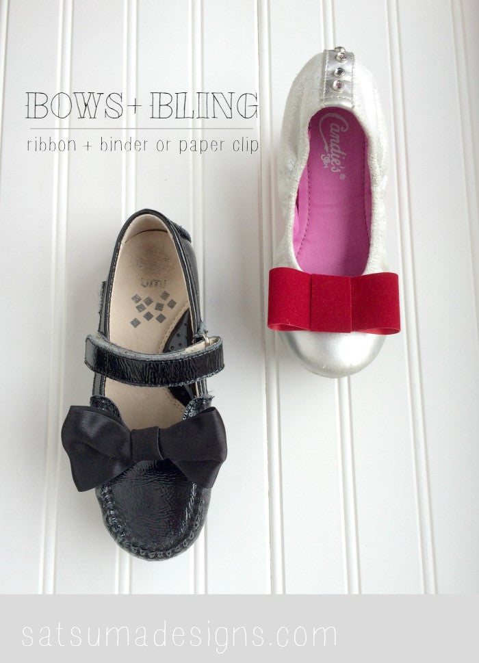 DIY Kids Shoe Bows