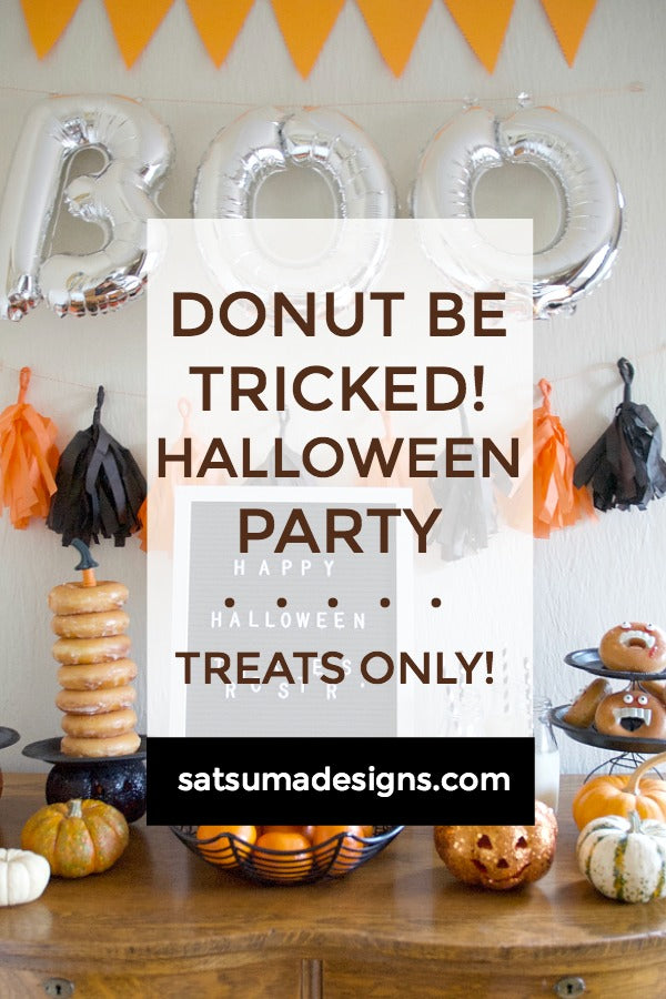 Donut Be Tricked! Halloween Party
