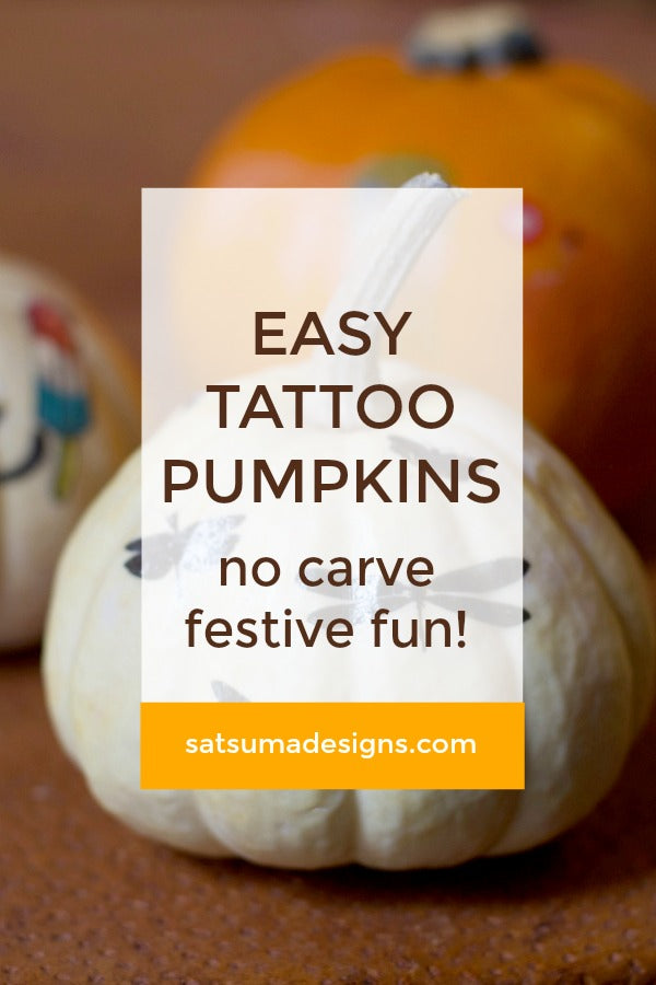 Easy Tattoo Pumpkins