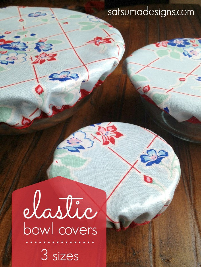 DIY Elastic Bowl Covers