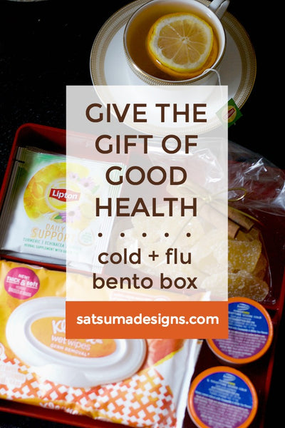 Give the Gift of Good Health | Cold and Flu Bento Box
