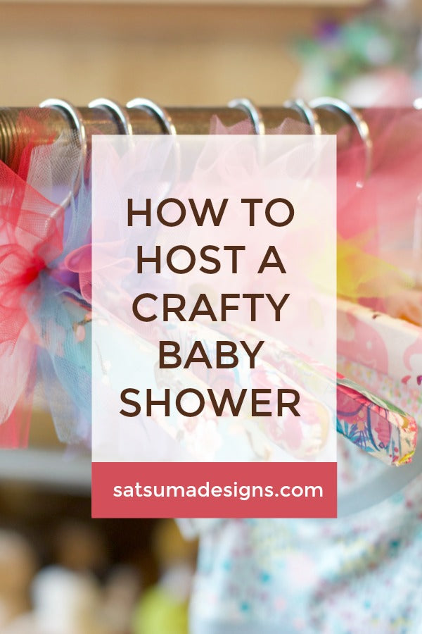 How to Host a Crafty Baby Shower For All Skill Levels