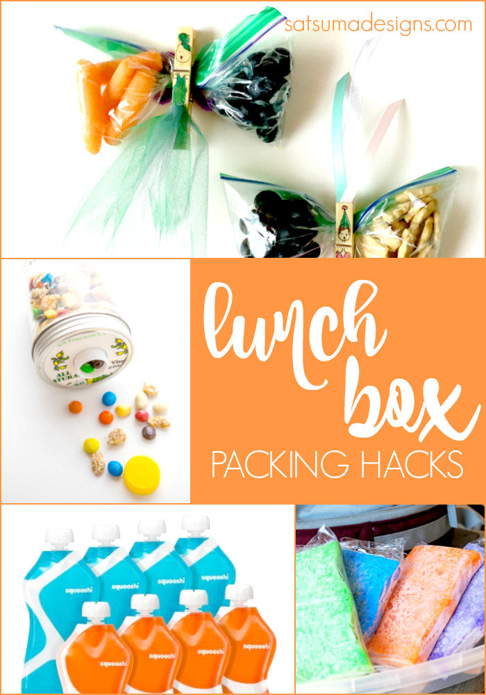 Lunch Box Packing Hacks
