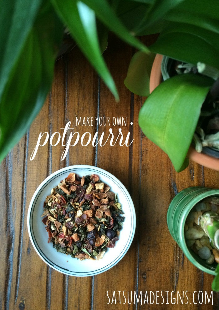 Natural Room Spray and Potpourri
