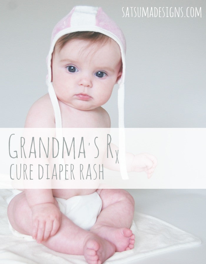 Grandma's Tips to Cure Diaper Rash