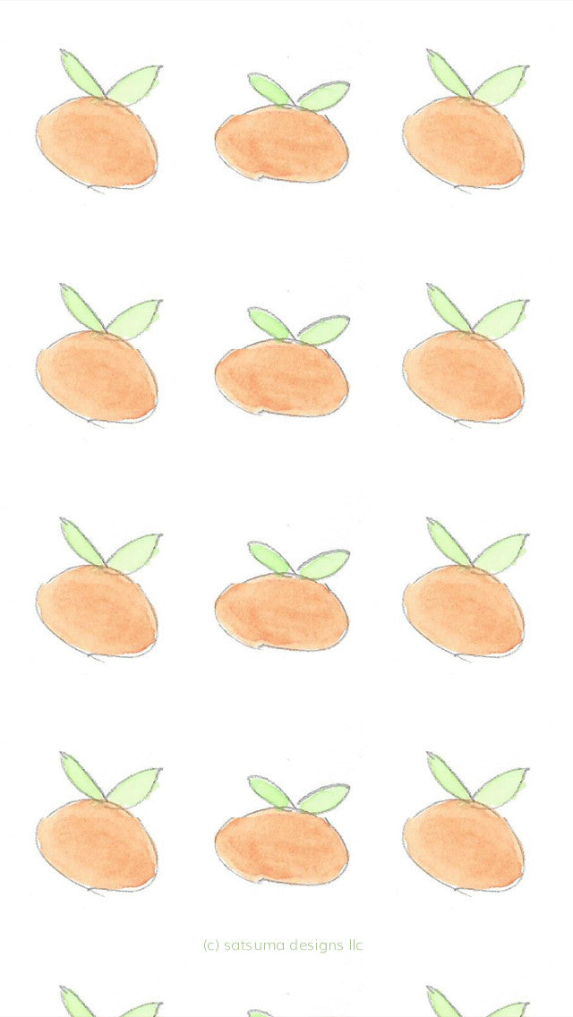Free Satsuma iPhone and Computer Wallpaper