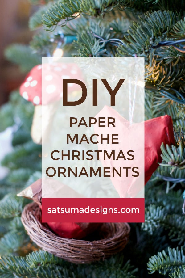 Paper Mache Christmas Ornaments