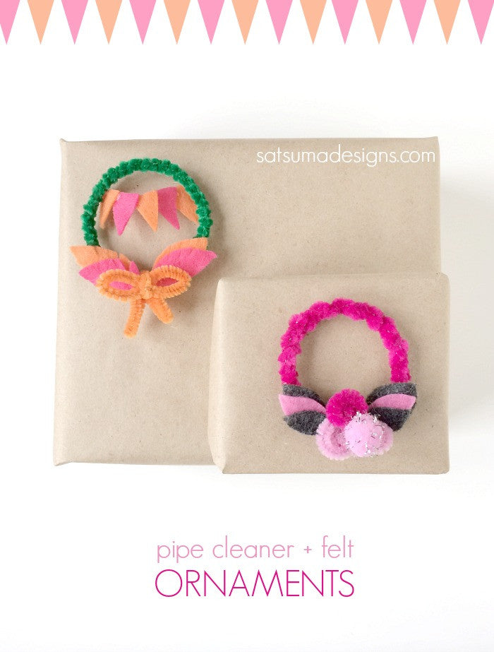 Pipe Cleaner Ornaments