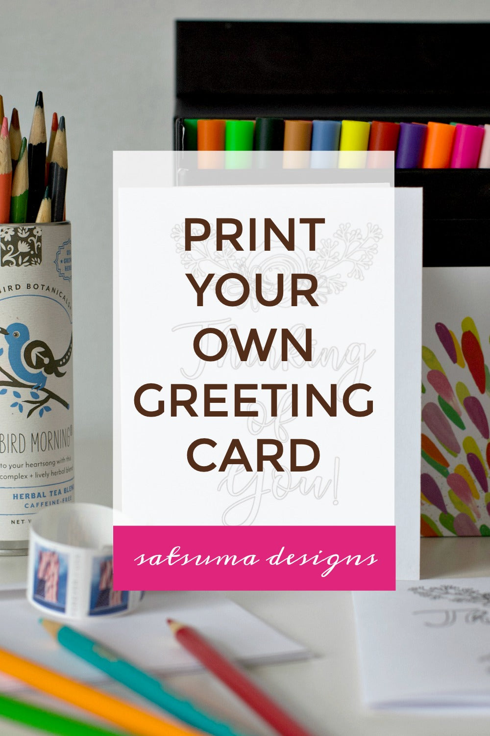 Print Your Own Greeting Card | Send Love Today!