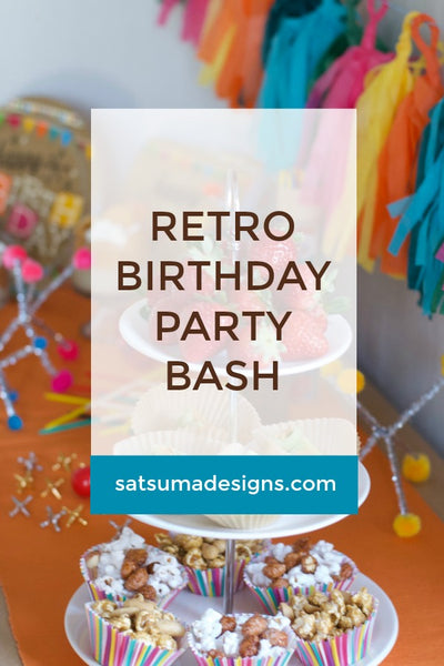 Retro Birthday Party Bash