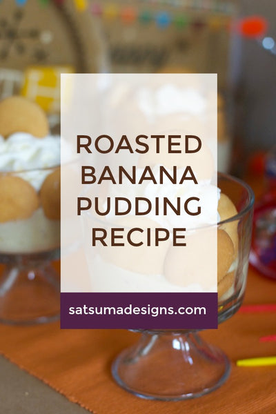 Roasted Banana Pudding Recipe