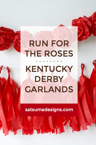 Run for the Roses | Kentucky Derby Garland
