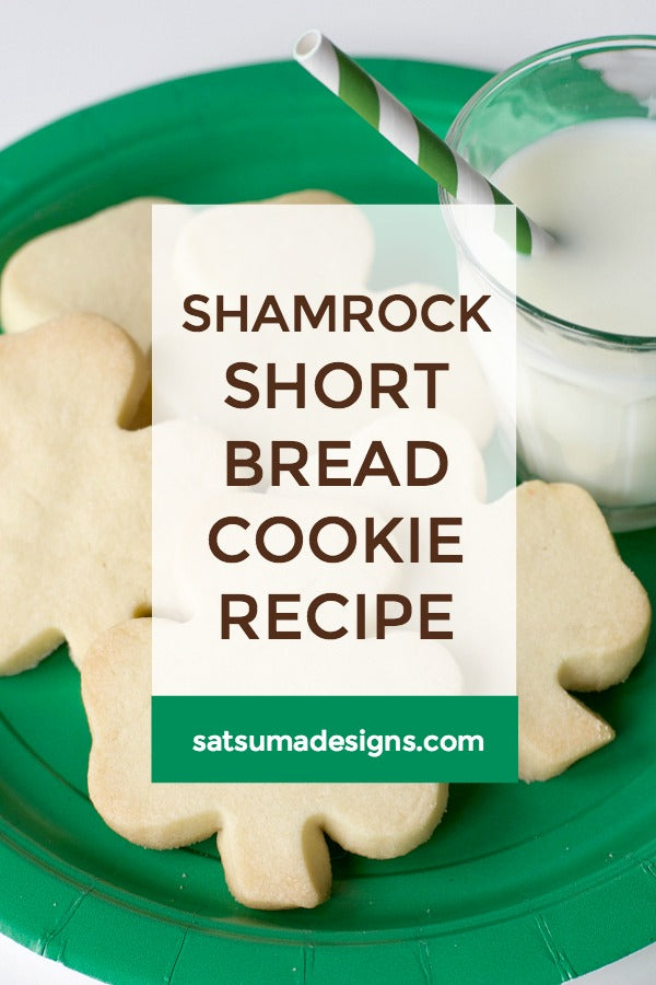 Shamrock Shortbread Cookie Recipe