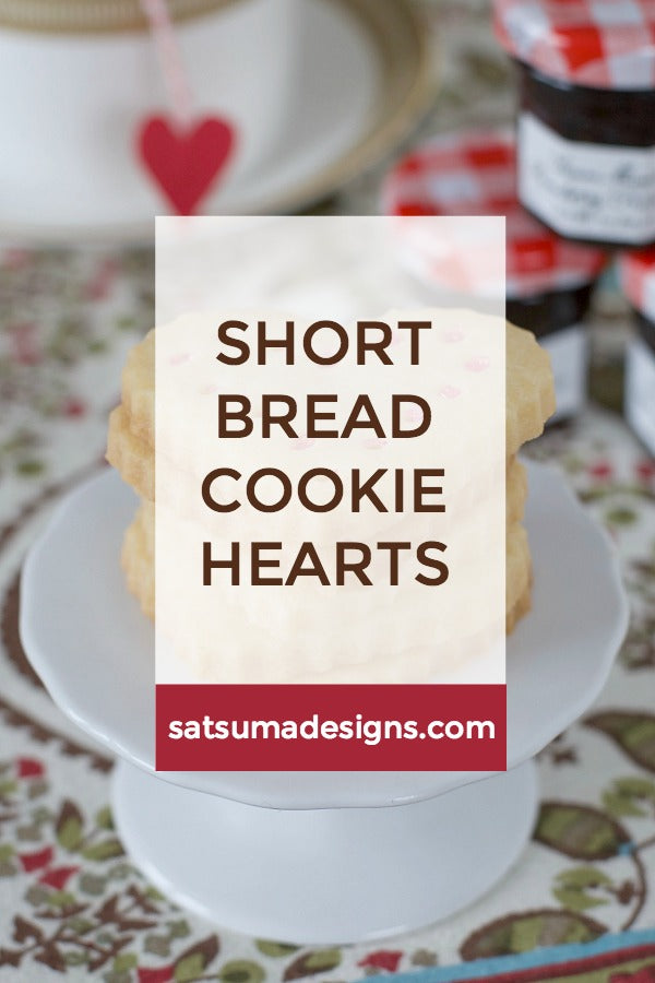 Shortbread Cookie Hearts
