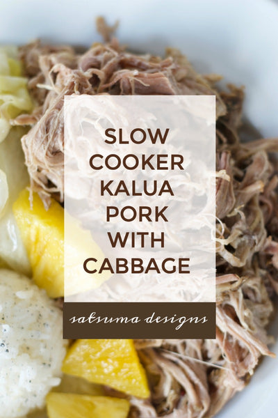 Slow Cooker Kalua Pork with Cabbage Recipe