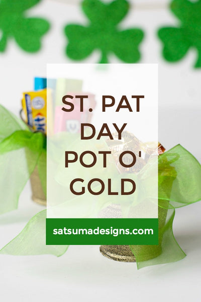 St. Patrick's Day Pot of Gold Party Favor