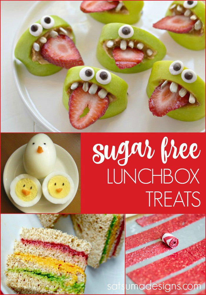 Sugar-Free Lunchbox Treats