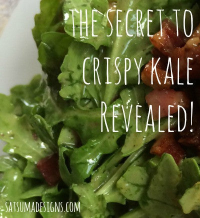 The Secret to Crispy Kale Revealed