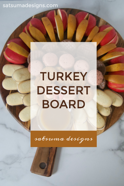 Turkey Dessert Board