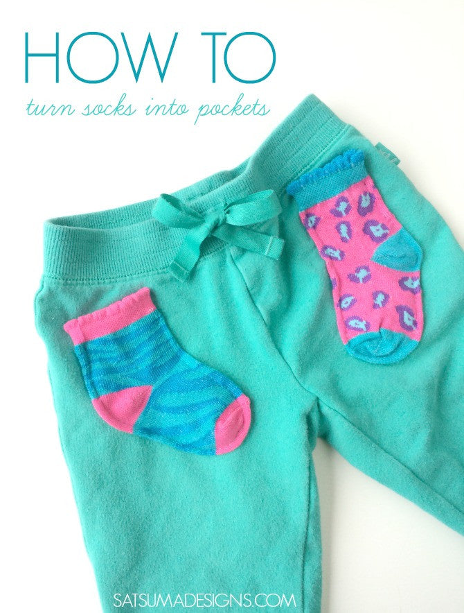 Add Sock Pockets to Leggings