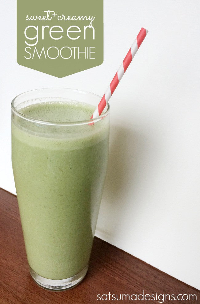 Kids Vegan Green Smoothie Recipe