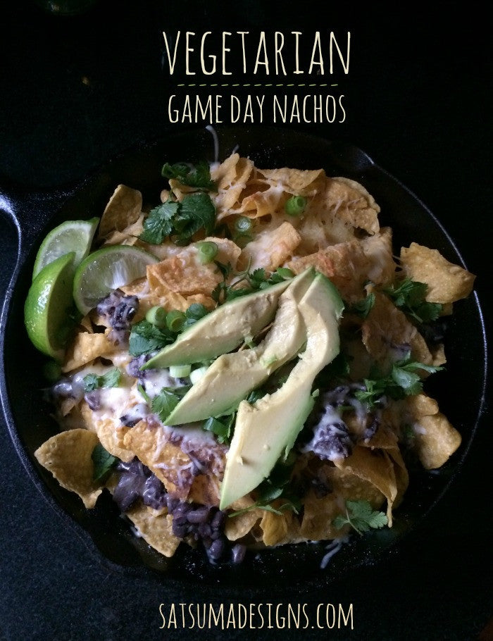 Game Day Vegetarian Nachos