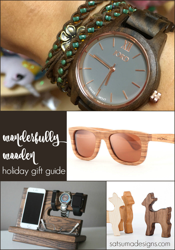 Wonderfully Wooden Holiday Gift Guide