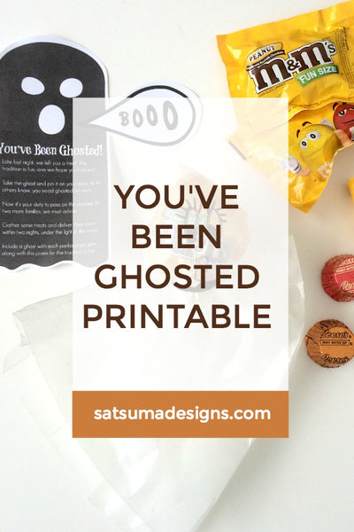 You've Been Ghosted Printable