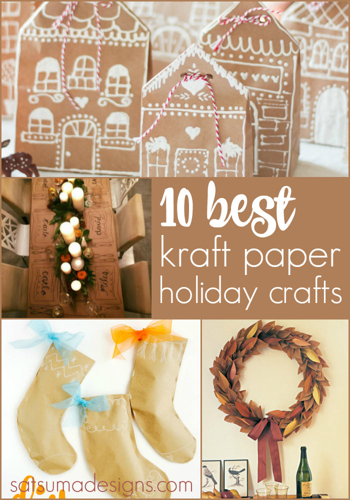 10 best kraft paper holiday crafts
