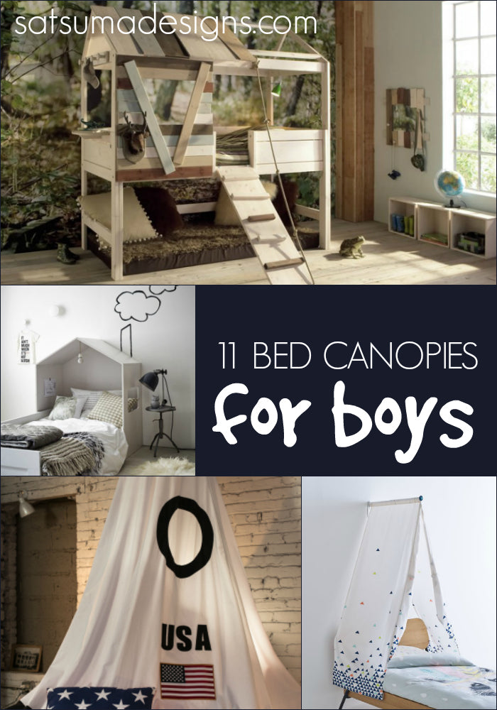 11 Bed Canopies for Boys & 11 Bed Canopies for Boys u2013 Satsuma Designs