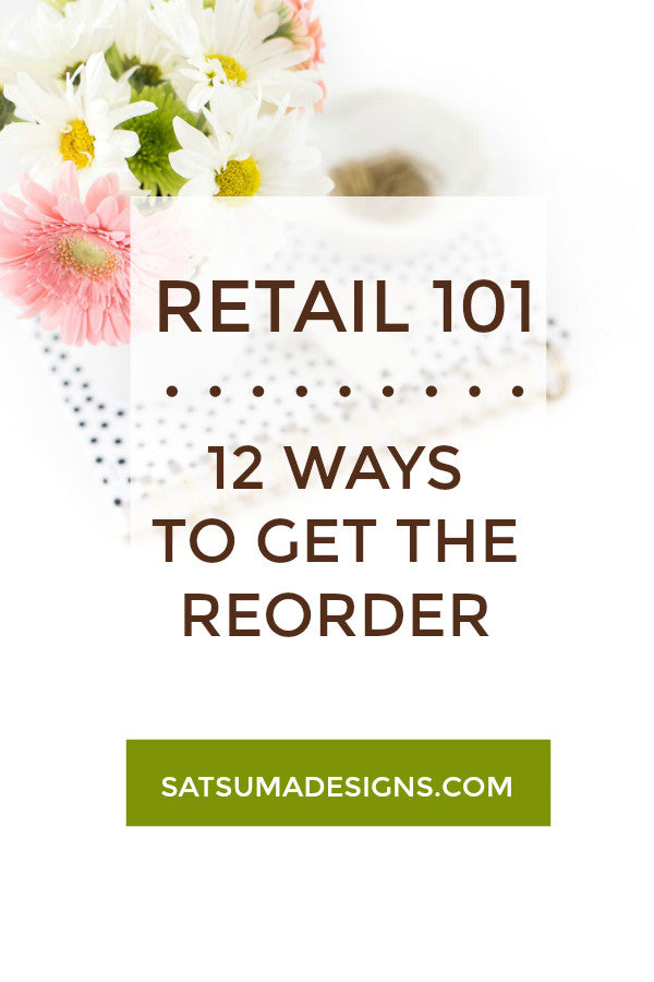 12 WAYS TO GET THE REORDER