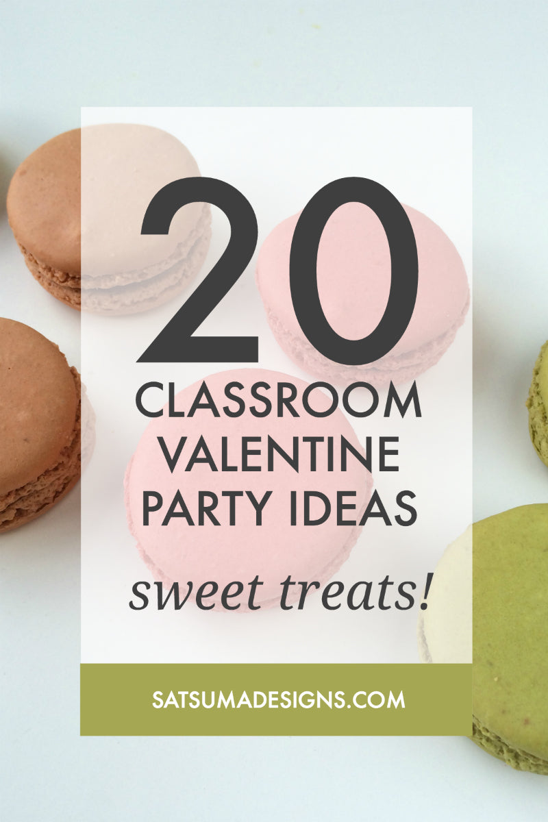 20 classroom valentine party ideas