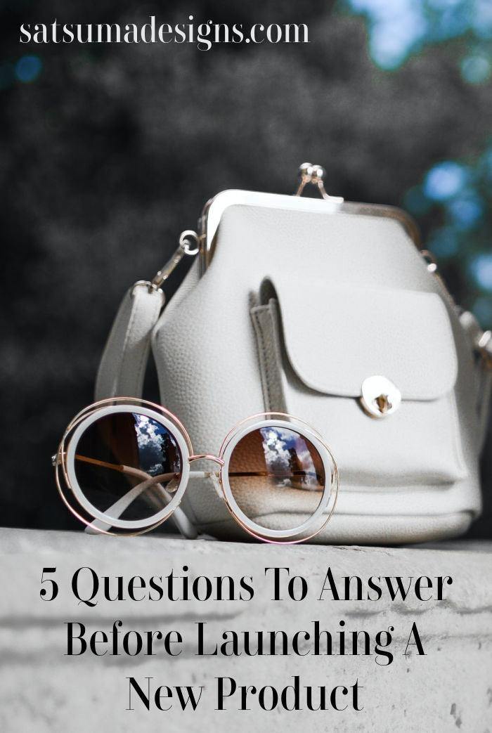 5 best questions to answer before launching a new product. Discover the questions that best selling product developer ask and answer before producing new product that expends time and resources. #timeismoney #business #blogging #bossbabe #ladyboss #productmarketing
