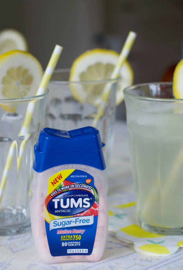 Click through to find out five delicious and easy sugar-free ways to entertain | Sugar-free ways to entertain | Party planning | SatsumaDesigns.com #TUMSSugarFree #ad